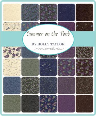 Moda Mini Charm - Summer On The Pond by Holly Taylor