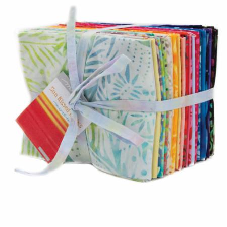 Moda Fat Quarter Bundle - Sun Kissed Batiks by Moda