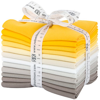 Robert Kaufman Fat Quarter Bundle - Sunny Side Up Palette