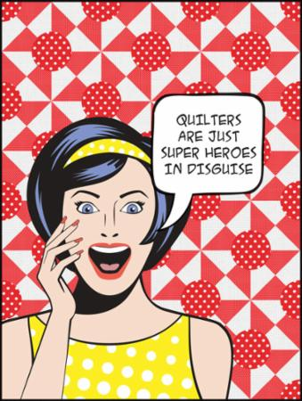 Moda Quilt Kit - Super Heroes In Disguise