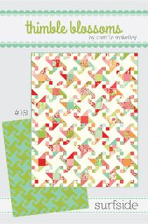 Surfside Quilt Pattern by Camille Roskelley