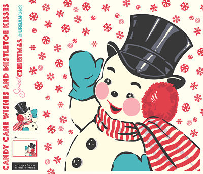 Moda Panel - Sweet Christmas Digital Panel