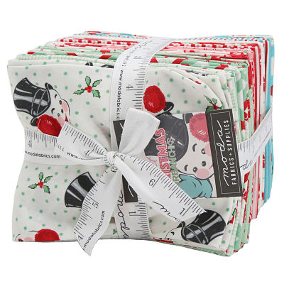 Moda Fat Quarter Bundle - Sweet Christmas by Urban Chiks