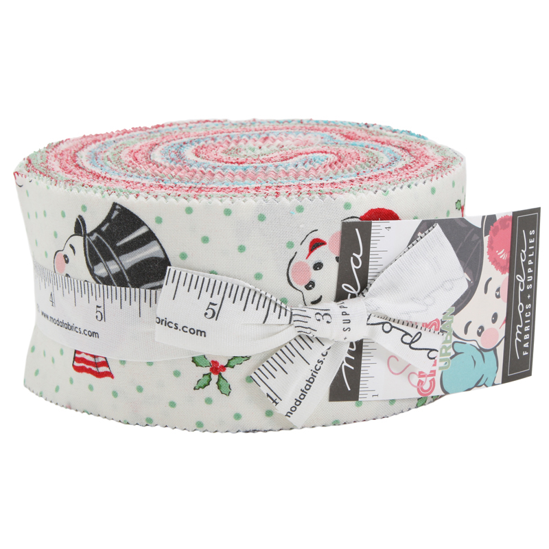 Moda Jelly Roll - Sweet Christmas by Urban Chiks