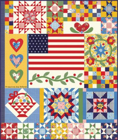 Moda Quilt Kit - Sweet Harmony by American Jane