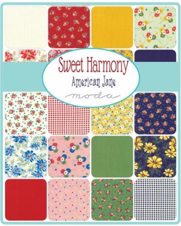 Moda Layer Cake - Sweet Harmony by American Jane