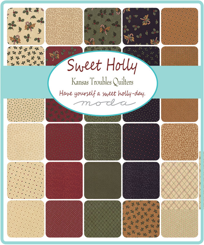 June/20 - Sweet Holly Charm Pack
