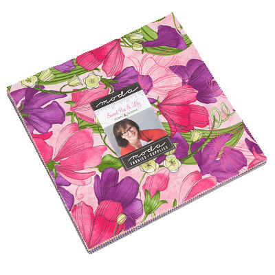 Moda Layer Cake - Sweet Pea Lily by Robin Pickens