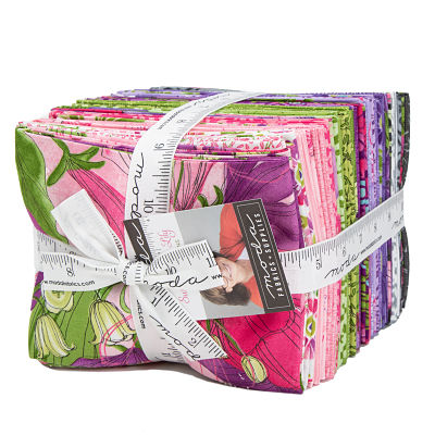 Moda Fat Quarter Bundle - Sweet Pea Lily by Robin Pickens