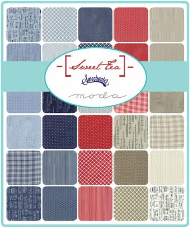 Moda Fat Eighth Bundle - Sweet Tea by Sweetwater
