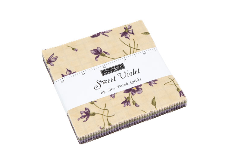 Moda Charm Pack - Sweet Violet by Jan Patek