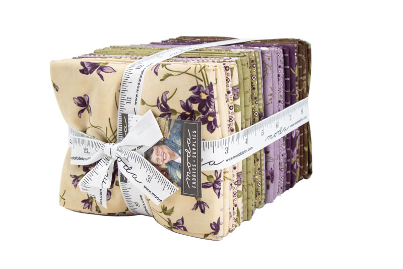 Moda Fat Quarter Bundle - Sweet Violet by Jan Patek