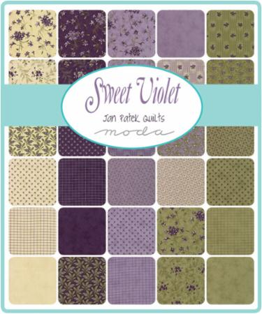 Moda Fat Eighth Bundle - Sweet Violet by Jan Patek
