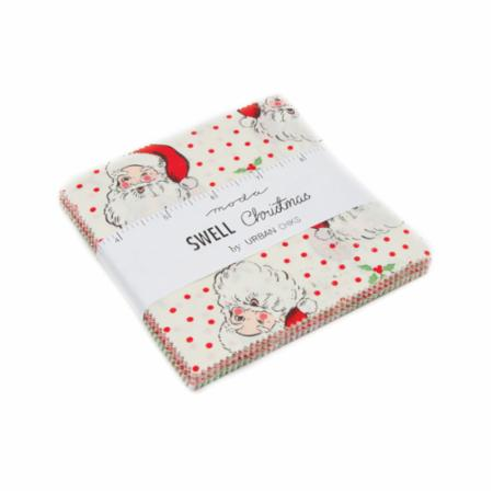 Moda Charm Pack - Swell Christmas by Urban Chiks