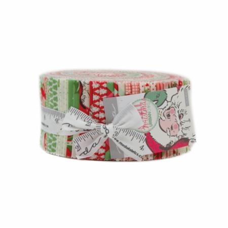 Moda Jelly Roll - Swell Christmas by Urban Chiks