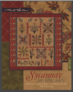 Moda Quilt Kit - Sycamore by Jan Patek