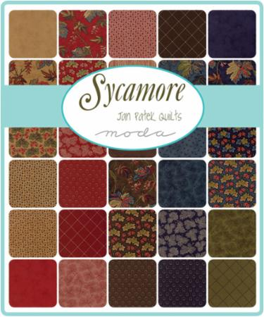 Moda Fat Eighth Bundle - Sycamore by Jan Patek
