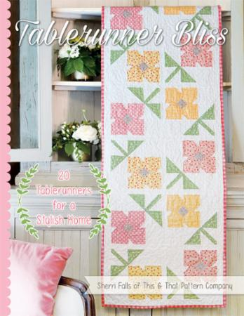 Tablerunner Bliss Book