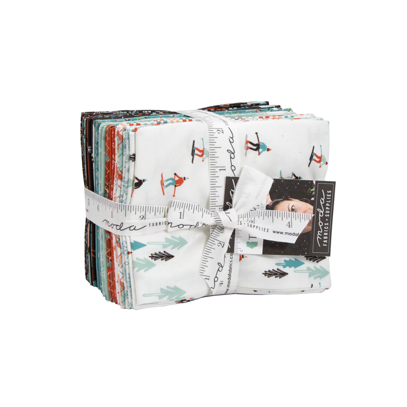 Moda Fat Quarter Bundle - Tahoe Ski Week by Mara Penny