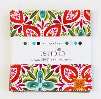 Moda Charm Pack - Terrain by Kate Spain
