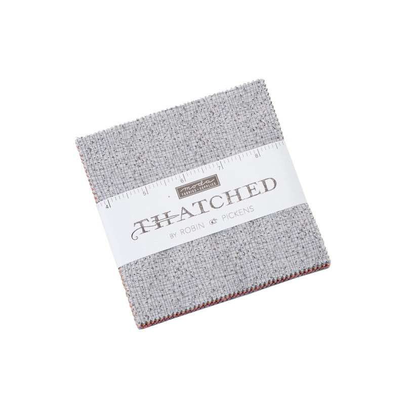 Moda Charm Pack - Thatched by Robin Pickens