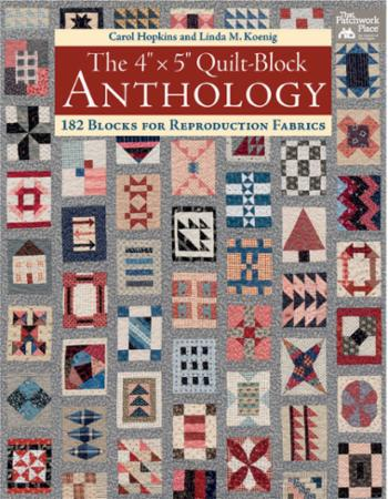 The 4x5 Quilt Block Anthology Book