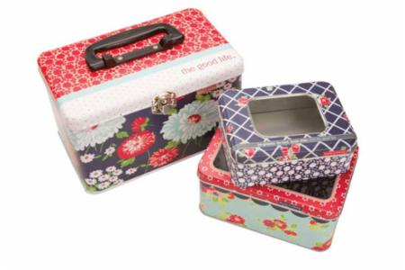 Bonnie Camille Set Of 3 Tins