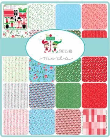 Moda Fat Quarter Bundle - The North Pole by Stacy Iest Hsu