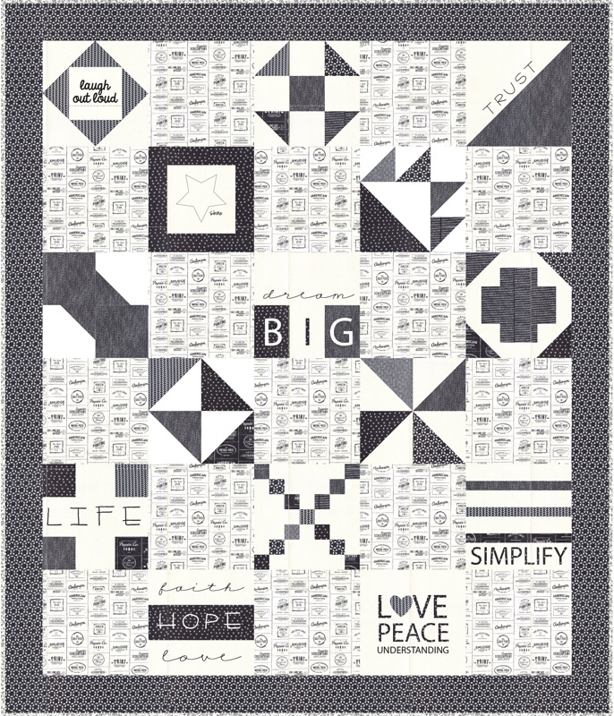 Moda Quilt Kit - The Print Shop by Sweetwater