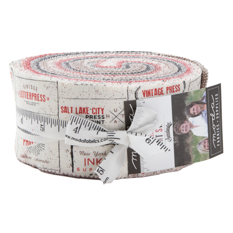 Moda Jelly Roll - The Print Shop by Sweetwater