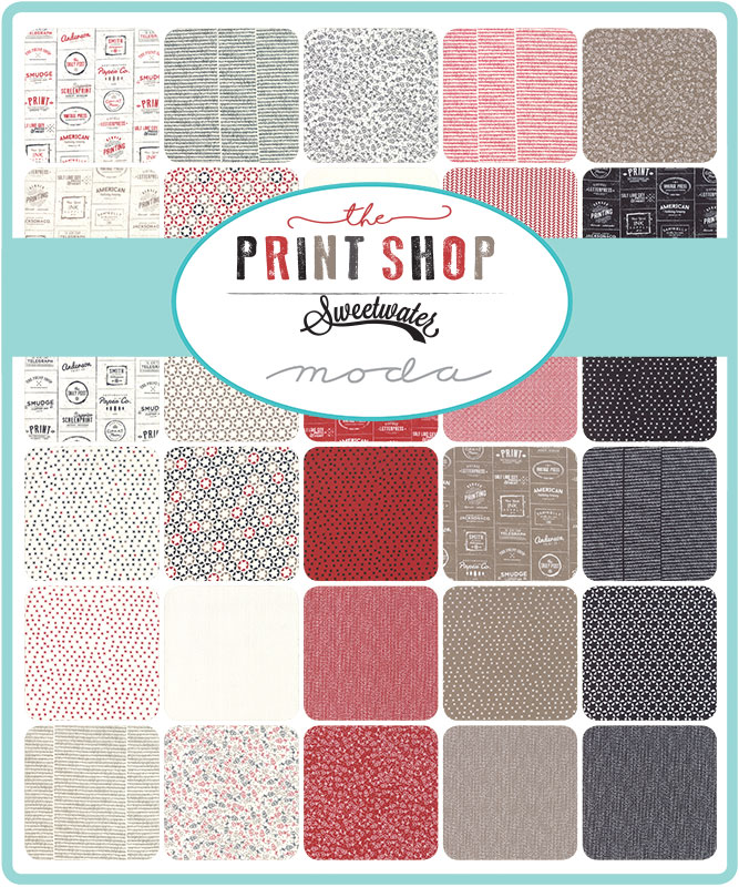 Moda Fat Quarter Bundle - The Print Shop by Sweetwater