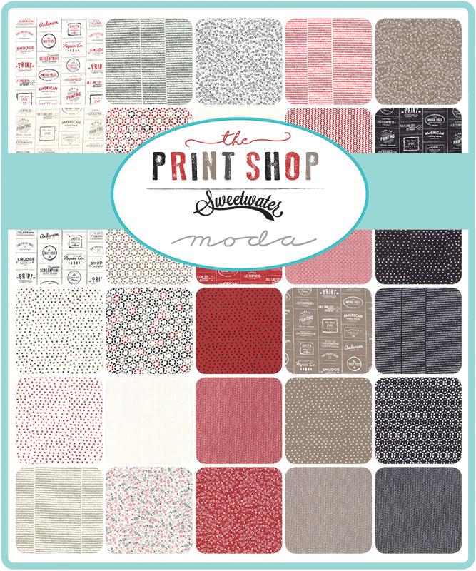 Moda Honey Bun - The Print Shop by Sweetwater