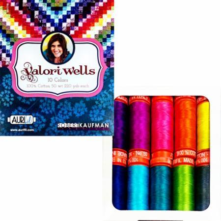 Valori Wells Collection 50wt Aurifil 10 Spools
