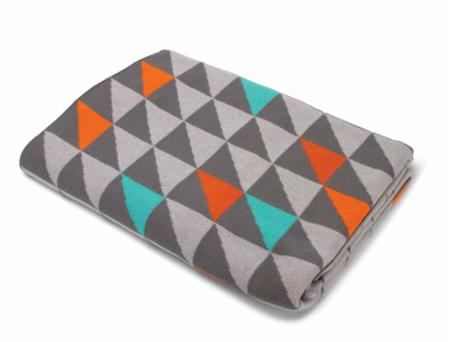Half Square Triangle Throw