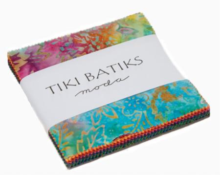 Moda Charm Pack - Tiki Batiks by Moda