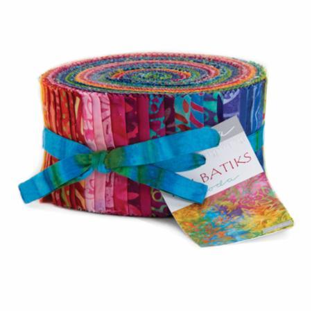 Moda Jelly Roll - Tiki Batiks by Moda