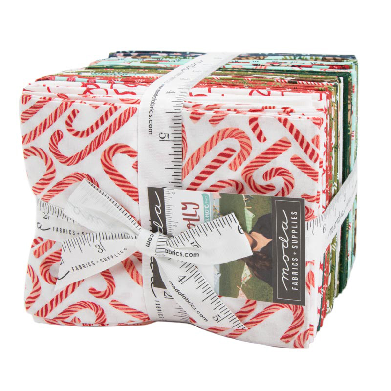 Moda Fat Quarter Bundle - To Be Jolly by One Canoe Two