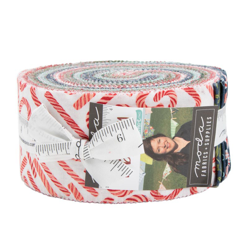 Moda Jelly Roll - To Be Jolly by One Canoe Two