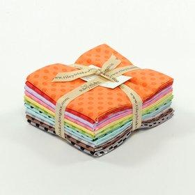 Riley Blake Fat Quarter Bundle - Cotton Dots Tone On Tone
