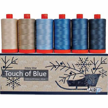 Touch Of Blue 50wt Aurifil