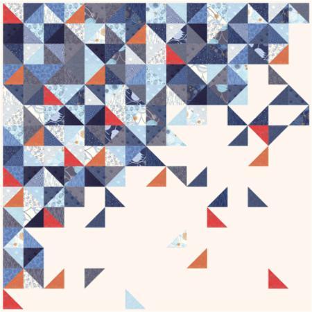 April/17 - True Blue Quilt Kit