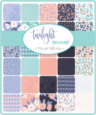 Moda Fat Eighth Bundle - Twilight by One Canoe Two