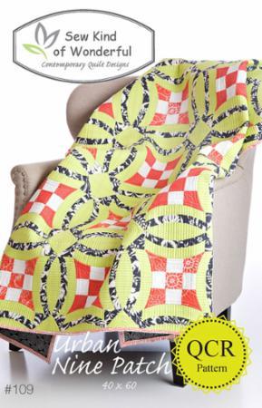 Urban Nine Patch Pattern by Sew Kind Of Wonderful