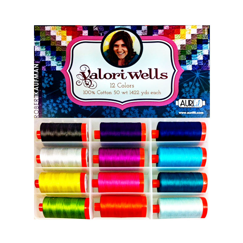 Valori Wells Collection Aurifil Large Spools