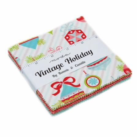 Moda Charm Pack - Vintage Holiday by Bonnie & Camille