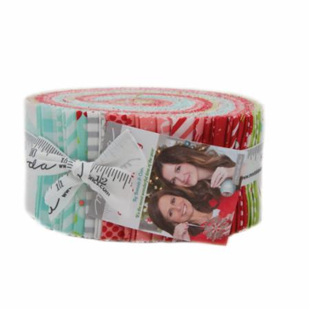 Moda Jelly Roll - Vintage Holiday by Bonnie & Camille