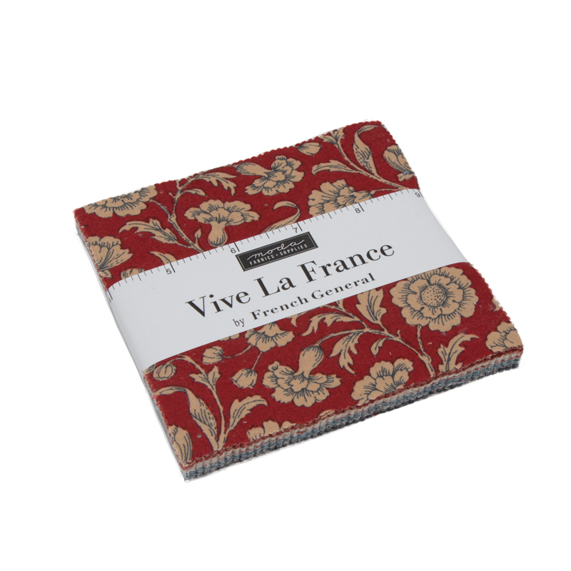 Moda Charm Pack - Vive La France by French General