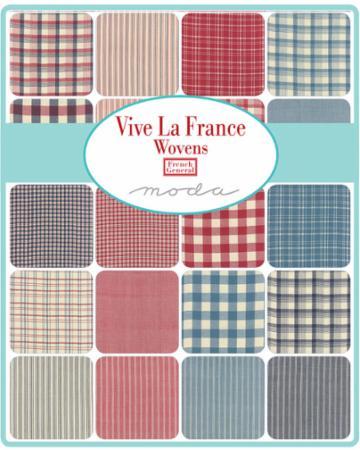 Feb/19 - Vive La France WOVENS Fat Quarter Bundle