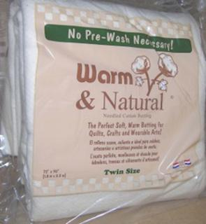 Warm & Natural Batting Twin Size