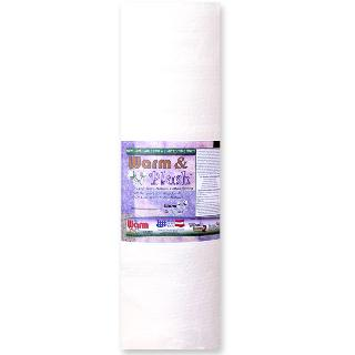 "Warm & Plush Batting 45"" x 10yd Roll"